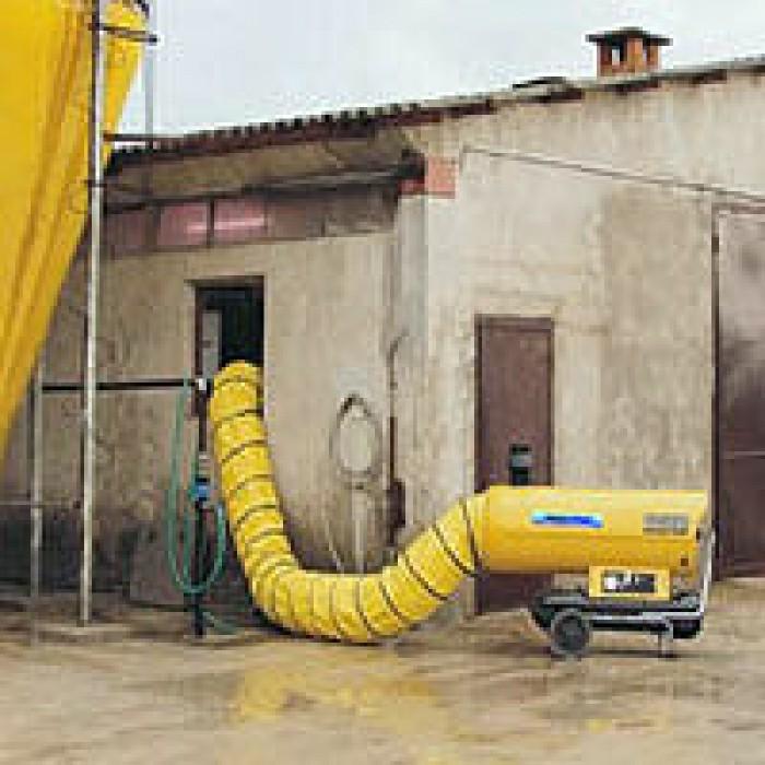 Riscaldamento Ad Aria A Gas.Generatori Da Riscaldamento Ad Aria Calda Tecnopress S R L Di